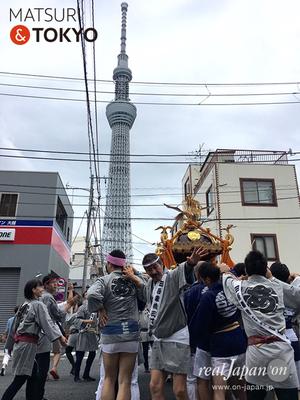 【牛嶋神社祭礼 (2016.09.18) 吾妻橋三丁目町会】