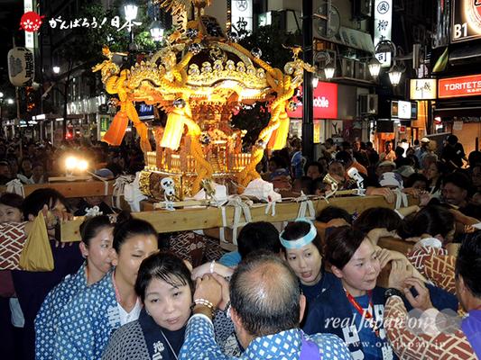〈第47回 ふくろ祭り〉2014.09.28【池袋二丁目原町会】Ⓒreal Japan'on!:fkr14-018