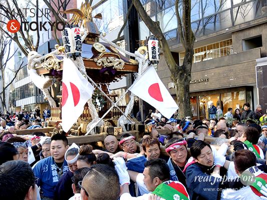 〈建国祭 2017.2.11〉①萬歳會 1(大鳥居)©real Japan'on :kks17-006