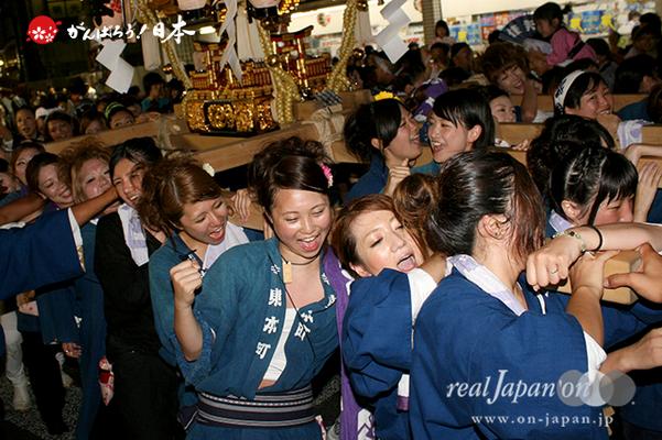〈八重垣神社祇園祭〉東本町区 @2014.08.04