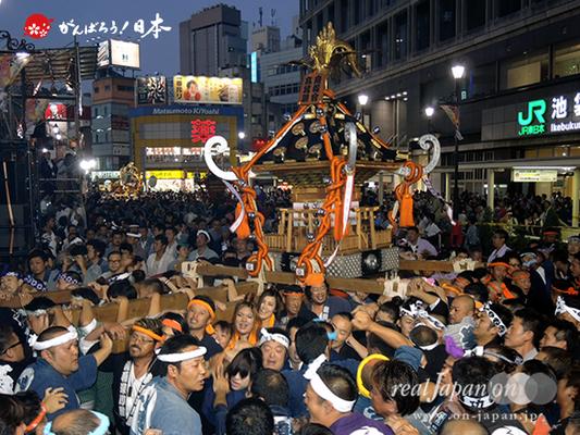 〈第47回 ふくろ祭り〉2014.09.28【高鳳睦・南和會連合】Ⓒreal Japan'on!:fkr14-004