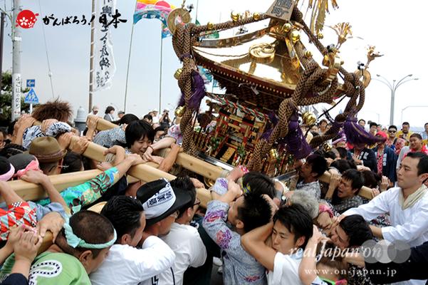 〈2014年 羽田まつり・各町神輿連合渡御〉西町 町会