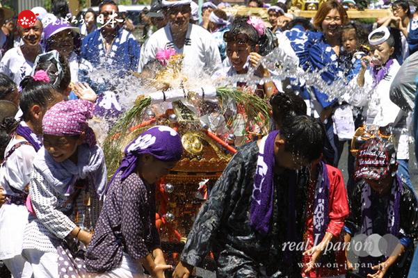 〈八重垣神社祇園祭〉東本町区・子供神輿 @2014.08.05