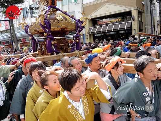 第40回よこすかみこしパレード 2016年10月16日【30. 東佐野町会】YMP16_065