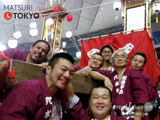 能登穴水キリコ祭り in TOKYO, ふるさと祭り東京ドーム, 2017年1月8日-9日