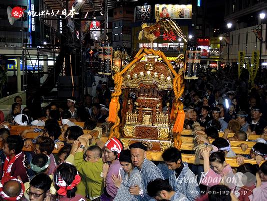 〈第47回 ふくろ祭り〉2014.09.28【長崎二丁目町会】Ⓒreal Japan'on!:fkr14-031