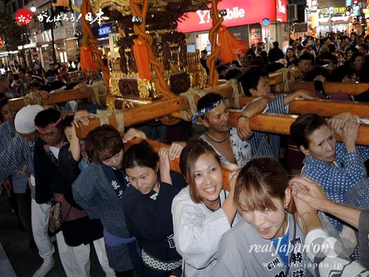 〈第47回 ふくろ祭り〉2014.09.28【長崎二丁目町会】Ⓒreal Japan'on!:fkr14-033