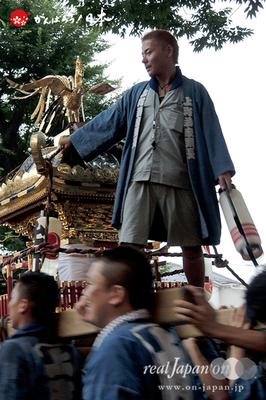 与野夏祭り:氷川神社境内渡御〈上町〉@2014.07.19