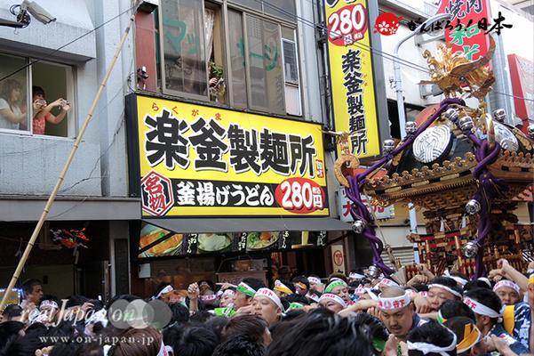 〈下谷祭〉本社神輿渡御 @2014.05.11