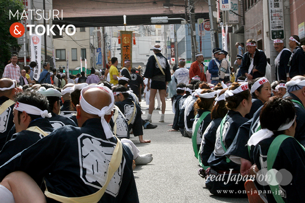 〈下谷神社大祭〉本社神輿渡御 2016.05.08 ©real Japan 'on! (sty16-010)