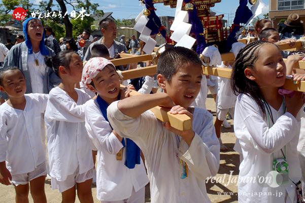 〈八重垣神社祇園祭〉横町区・子供神輿 @2014.08.05