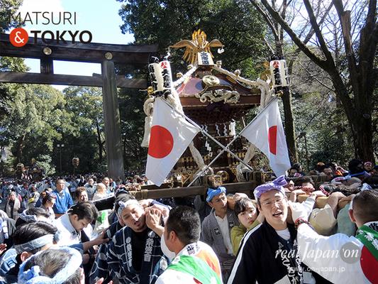 〈建国祭 2017.2.11〉①萬歳會 1(大鳥居)©real Japan'on :kks17-049
