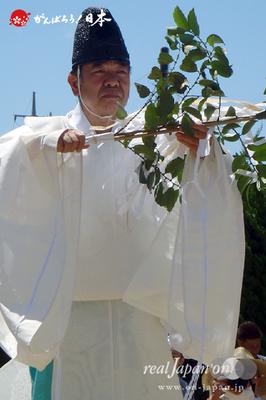 〈八重垣神社祇園祭〉八重垣神社宮司 @2014.08.05