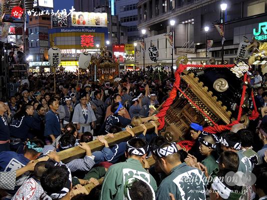 〈第47回 ふくろ祭り〉2014.09.28【若駒會】Ⓒreal Japan'on!:fkr14-005