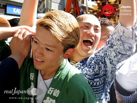 「井土ヶ谷神輿保存會(一心會)」2016年 横浜開港祭 みこしコラボレーション_YH16_065