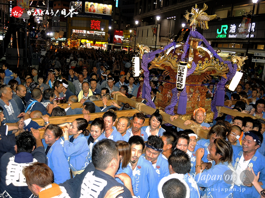 〈第47回 ふくろ祭り〉2014.09.28【西池袋南町会冨士見会】Ⓒreal Japan'on!:fkr14-016