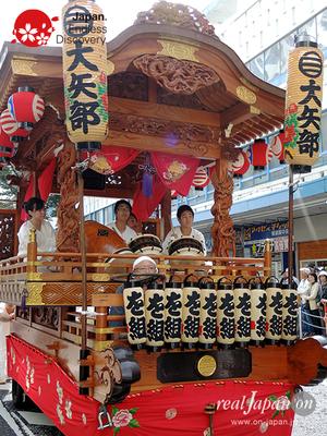 第40回よこすかみこしパレード 2016年10月16日【18. 大矢部囃子保存会】YMP16_037