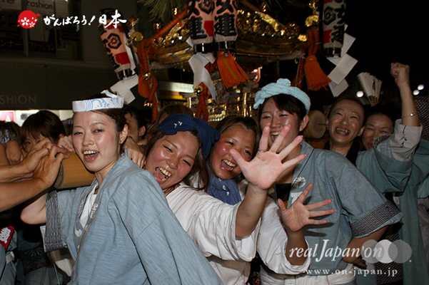 〈八重垣神社祇園祭〉下出羽区 @2014.08.04