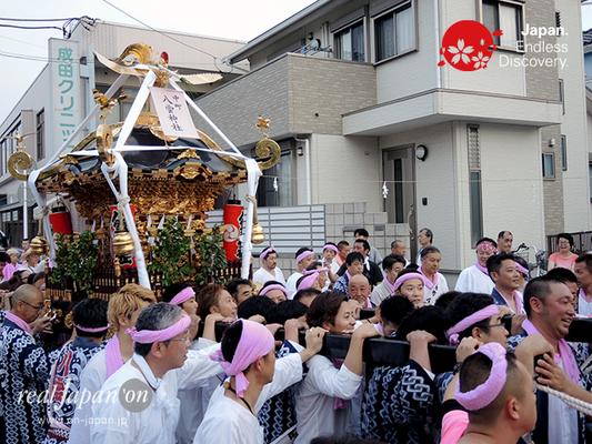 2016年度「浜降祭」南湖中町 八雲神社 2016年7月18日 HMO16_011