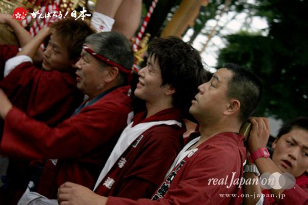 与野夏祭り:上町氷川神社境内渡御〈下町〉@2014.07.19