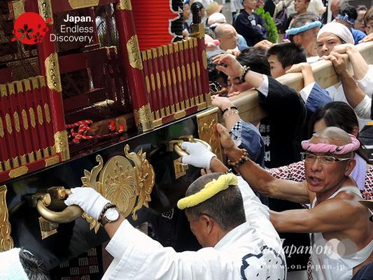「彫勇連合」2016年 横浜開港祭 みこしコラボレーション_YH16_020