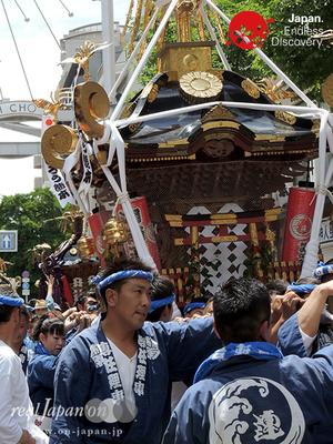 「湘南連合神輿保存會」2016年 横浜開港祭 みこしコラボレーション_YH16_035