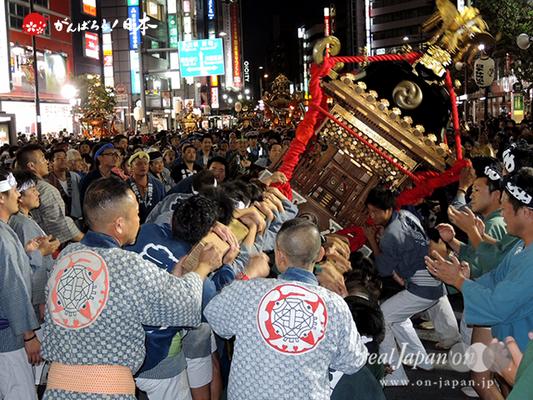〈第47回 ふくろ祭り〉2014.09.28【若駒會】Ⓒreal Japan'on!:fkr14-006