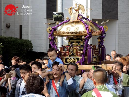 北小岩 八幡神社例大祭 2016年10月02日 KKH16_007