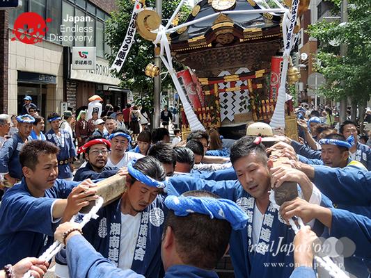 「湘南連合神輿保存會」2016年 横浜開港祭 みこしコラボレーション_YH16_038