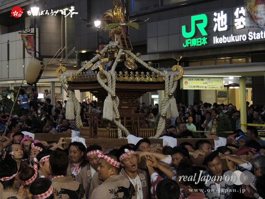 〈第47回 ふくろ祭り〉2014.09.28【池袋祭輿睦・好祭会】Ⓒreal Japan'on!:fkr14-001