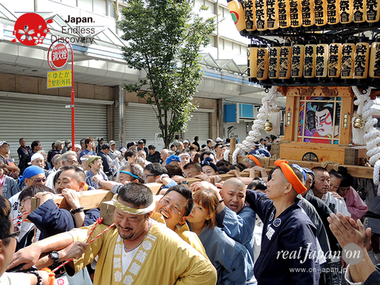 第40回よこすかみこしパレード 2016年10月16日【14. かもめ粋祭會会】YMP16_027