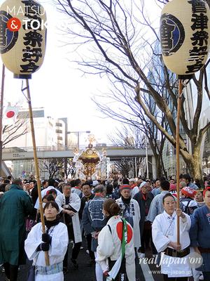 〈建国祭 2017.2.11〉⑧會津祭好会 ©real Japan'on :kks17-026