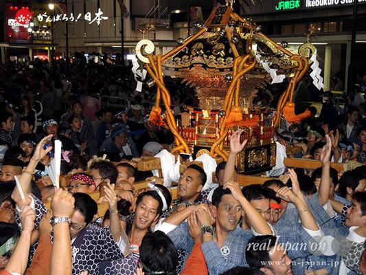 〈第47回 ふくろ祭り〉2014.09.28【池袋御嶽町会】Ⓒreal Japan'on!:fkr14-026