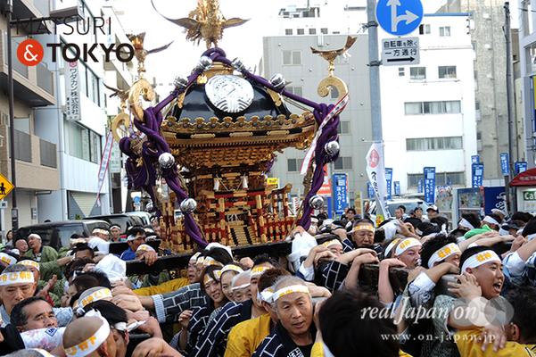 〈下谷神社大祭〉本社神輿渡御 2016.05.08 ©real Japan 'on! (sty16-027)