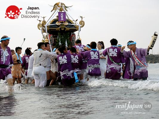 2016年度「浜降祭」中海岸 八大龍王神 2016年7月18日 HMO16_025