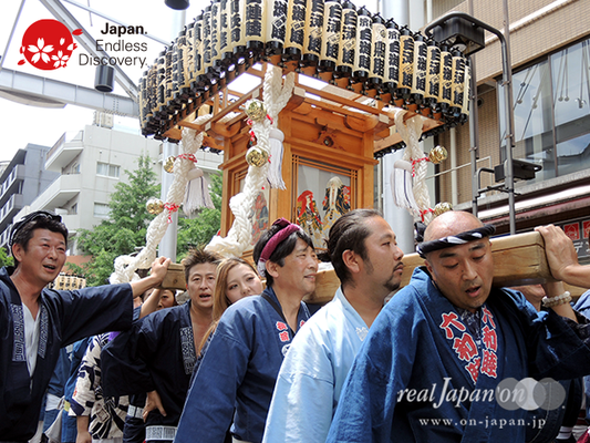 「白漣睦」2016年 横浜開港祭 みこしコラボレーション_YH16_076