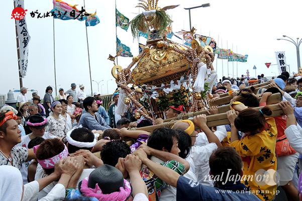 〈2014年 羽田まつり・各町神輿連合渡御〉大東 町会
