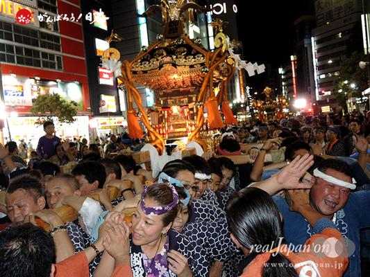 〈第47回 ふくろ祭り〉2014.09.28【池袋御嶽町会】Ⓒreal Japan'on!:fkr14-028