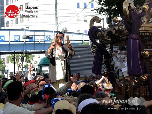「横浜祭友会」2016年 横浜開港祭 みこしコラボレーション_YH16_057