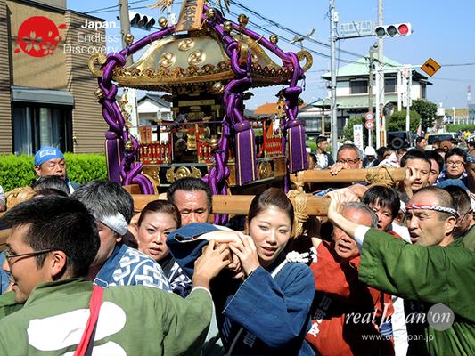 北小岩 八幡神社例大祭 2016年10月02日 KKH16_012