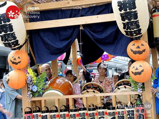 第40回よこすかみこしパレード 2016年10月16日【58. 湘鷹囃子会】YMP16_137