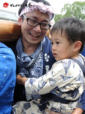 亀戸天神社例大祭:五番〈立川二丁目〉2014.08.24  Ⓒreal Japan'on!:ktj14-009