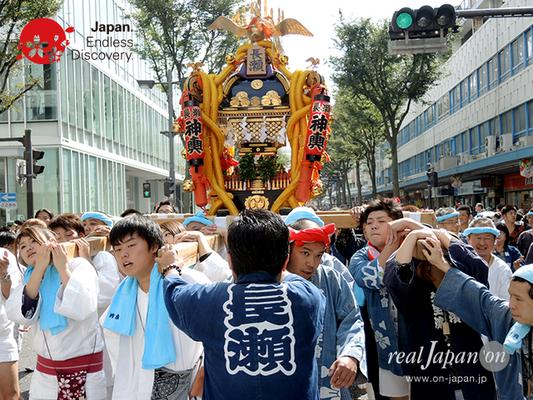 第40回よこすかみこしパレード 2016年10月16日【22. 長瀬町内会(神輿)】YMP16_046
