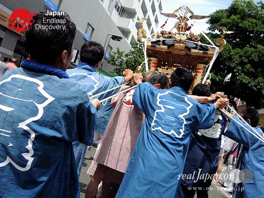 「今泉神輿保存会」2016年 横浜開港祭 みこしコラボレーション_YH16_015