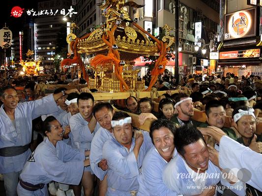 〈第47回 ふくろ祭り〉2014.09.28【西池袋一丁目町会】Ⓒreal Japan'on!:fkr14-011