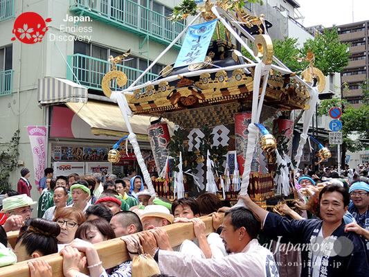 「小糸睦會」2016年 横浜開港祭 みこしコラボレーション_YH16_028