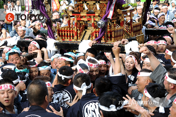 〈下谷神社大祭〉本社神輿渡御 2016.05.08 ©real Japan 'on! (sty16-016)