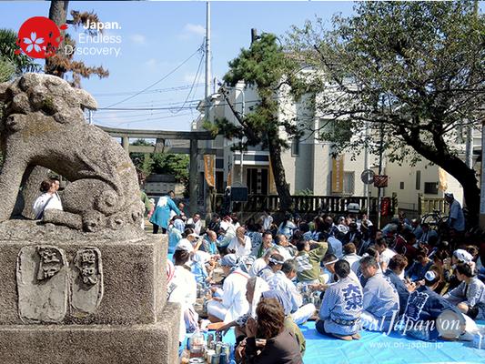 北小岩 八幡神社例大祭 2016年10月02日 KKH16_021