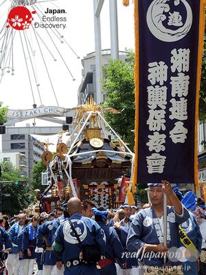「湘南連合神輿保存會」2016年 横浜開港祭 みこしコラボレーション_YH16_034