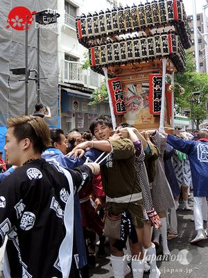 「河岸睦」2016年 横浜開港祭 みこしコラボレーション_YH16_031